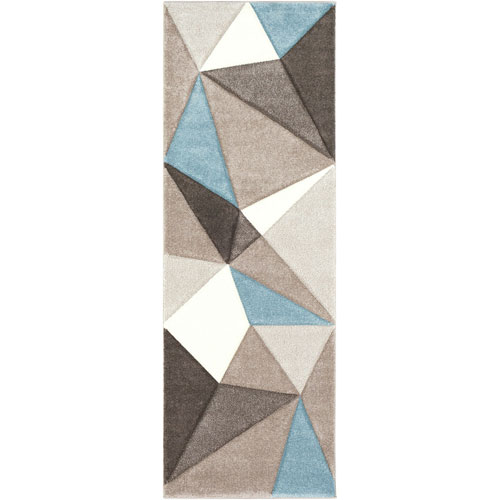 Santa Monica Neutral Runner: 2 Ft. 7 In. x 7 Ft. 6 In. Rug