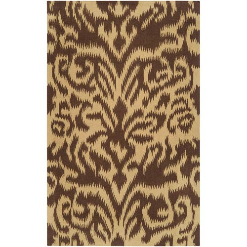 Surya Sag Harbor Chocolate Rectangular: 5 ft. x 8 ft. Rug