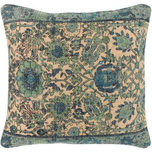 Surya Shadi Multicolor 18 x 18 In. Throw Pillow Cover