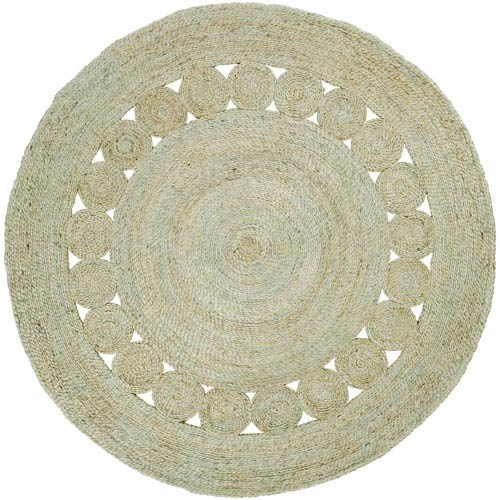 Sundaze Mint Round: 8 Ft. Rug