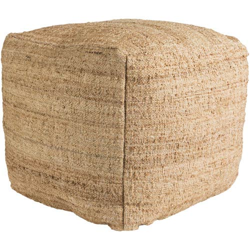 Seaport Camel Pouf