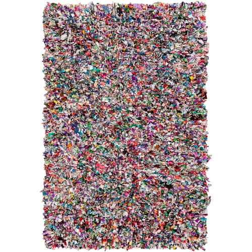 Surya Shirt Multicolor Rectangular: 2 Ft x 3 Ft Rug