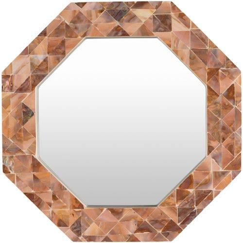 Surya Solomon Brown Mirror