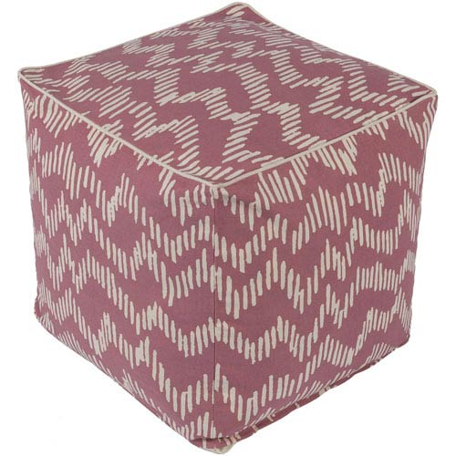 Somerset Rose and Cream Pouf