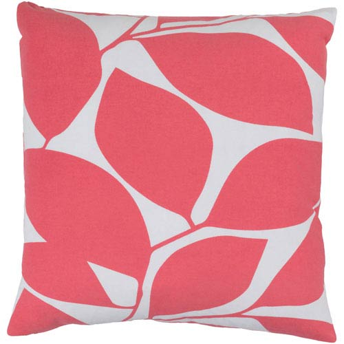 Somerset Pink and Neutral 22-Inch Pillow Cover