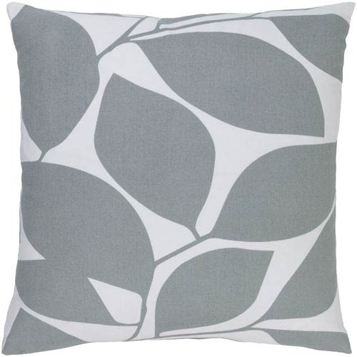 Somerset Gray and Neutral 22-Inch Pillow Cover