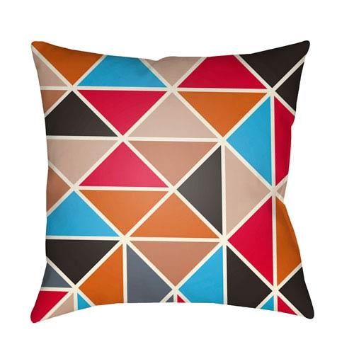 Surya Scandinavian Multicolor 18 x 18-Inch Pillow