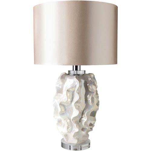 Surya Saratoga Pearl Table Lamp