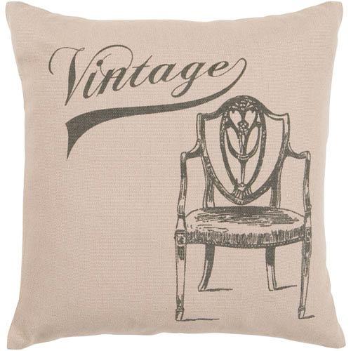 Surya Vintage Chair 22 x 22 Pillow