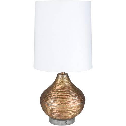 Surya St. John Gold Portable Lamp