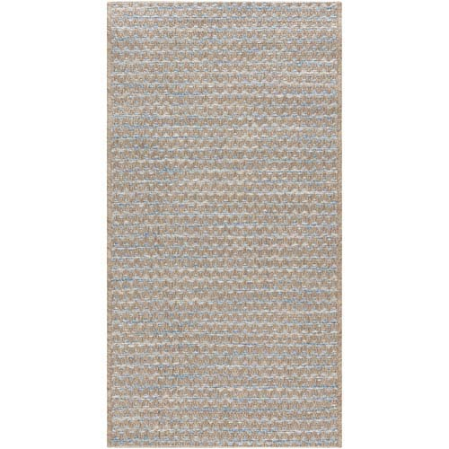 Santa Cruz Blue Rectangular: 2 Ft.x 3 Ft. 7-Inch Rug