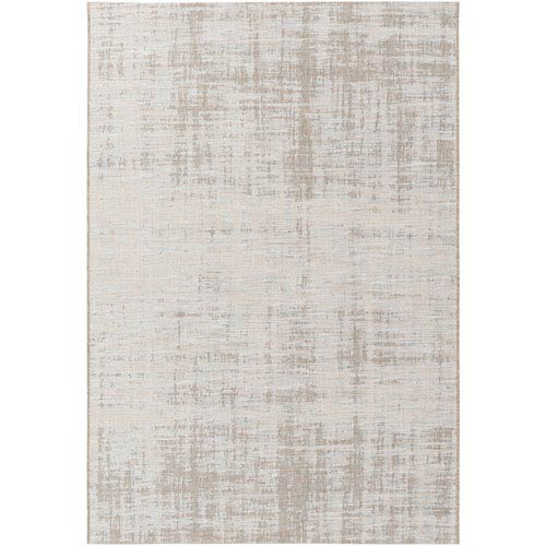 Santa Cruz Brown and Neutral Rectangular: 5 Ft. 3-Inch x 7 Ft. 7-Inch Rug