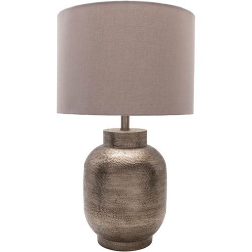 Surya Silverhill Pewter Finish Table Lamp