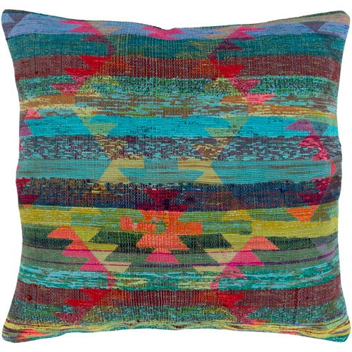 Surya Thames Multicolor 20 x 20 In. Throw Pillow Cover