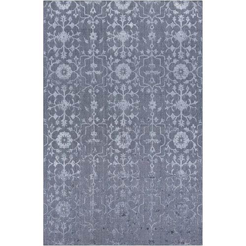 Tidal Medium Gray Rectangular: 6 Ft. x 9 Ft. Rug