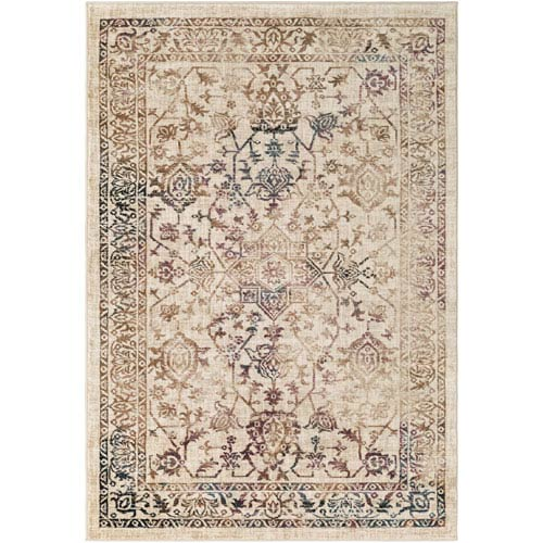 Surya Tharunaya Multicolor Rectangular: 2 Ft. x 3 Ft. Rug