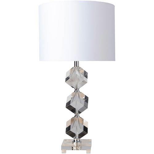 Surya Triton Clear Table Lamp