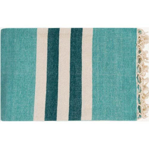 Troy Blue Throw