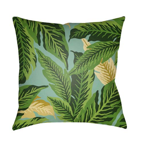 Surya Tropical Multicolor 20 x 20-Inch Pillow