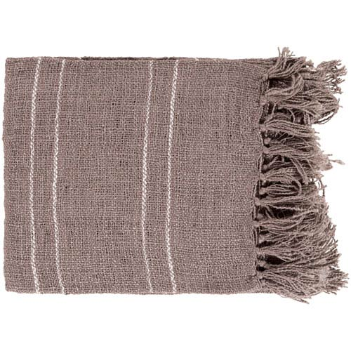Traveler Brown Throw