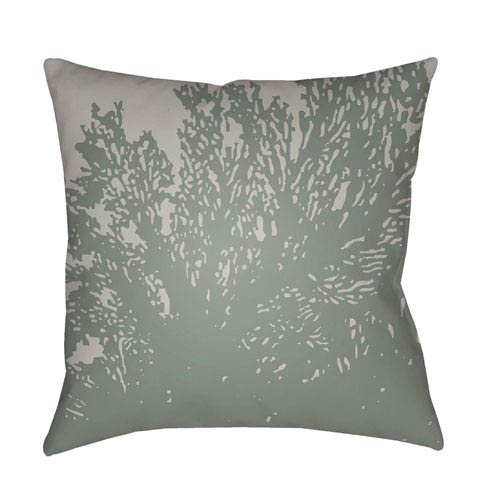 Surya Textures Lavender and Teal 22 x 22-Inch Pillow