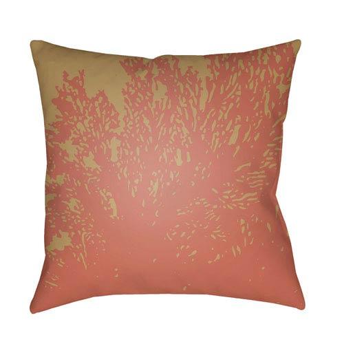 Surya Textures Rose 18 x 18-Inch Pillow