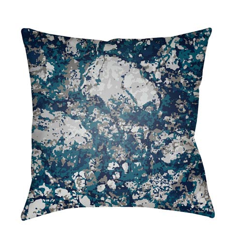 Surya Textures Multicolor 18 x 18-Inch Pillow