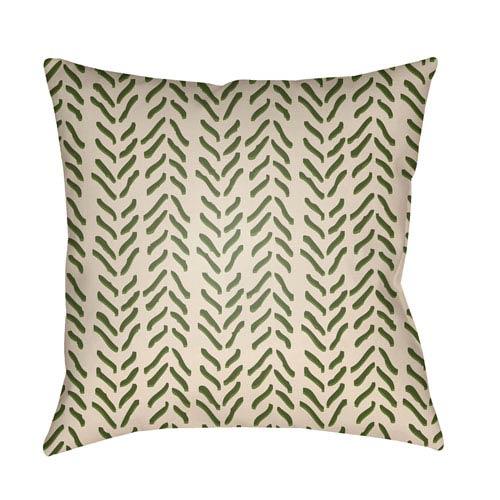Surya Textures Multicolor 22 x 22-Inch Pillow