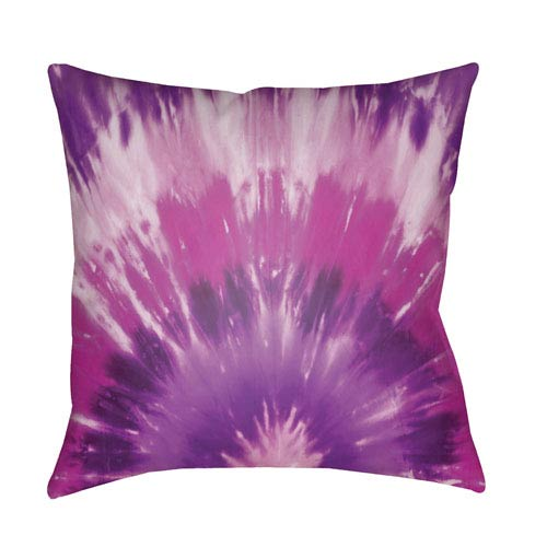 Textures Bright Purple and Violet 20 x 20-Inch Pillow