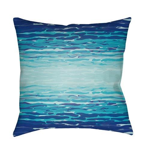 Surya Textures Multicolor 18 x 18-Inch Pillow