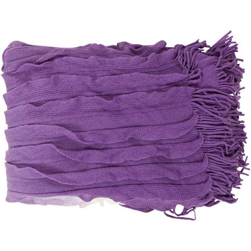 Toya Purple Throw