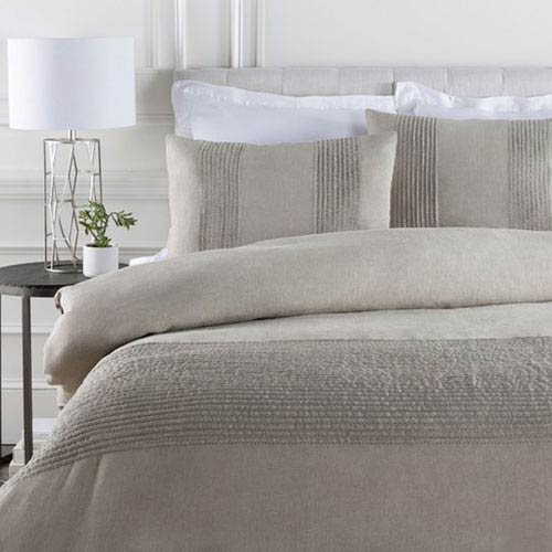 Upton Undyed Natural Twin Duvet