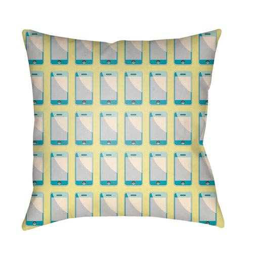 Surya Warhol Multicolor 20 x 20-Inch Pillow