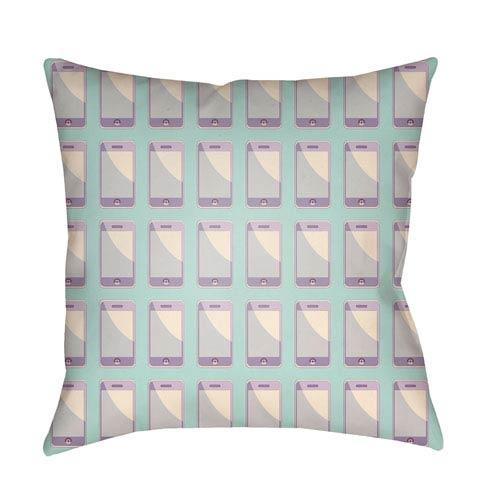 Surya Warhol Multicolor 18 x 18-Inch Pillow