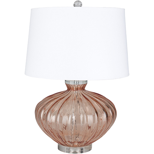 Surya Willoughby Coral One-Light Table Lamp