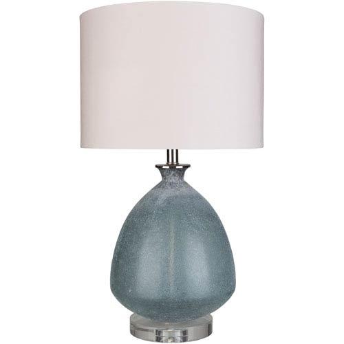 Surya Weymonth Blue Table Lamp