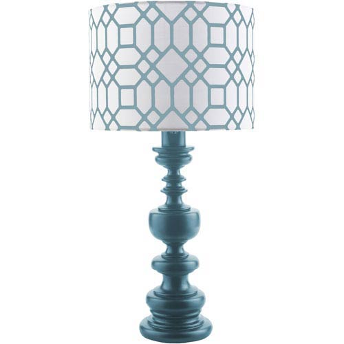 Wilson Blue One-Light Table Lamp