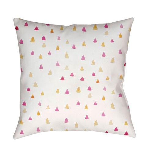 Surya Funfetti Multicolor 18 x 18-Inch Throw Pillow