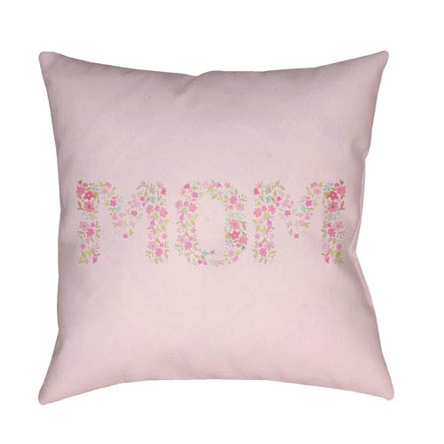 Surya Mom Multicolor 18 x 18-Inch Throw Pillow
