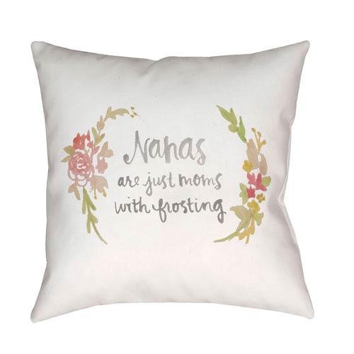 Surya Nana Multicolor 20 x 20-Inch Throw Pillow