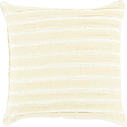 Willow Green and Neutral 22-Inch Pillow Cover