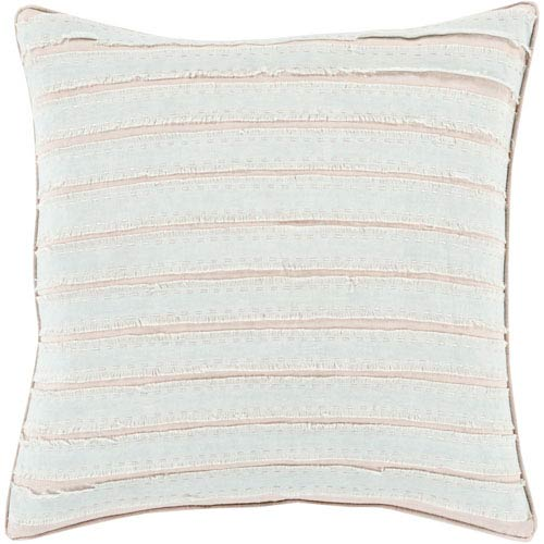 Willow Gray and Neutral 18-Inch Pillow Cover