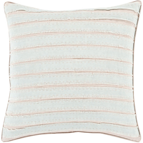 Willow Gray and Neutral 20-Inch Pillow Cover