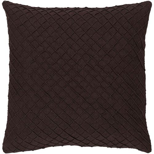 Wright Brown 20-Inch Pillow Cover
