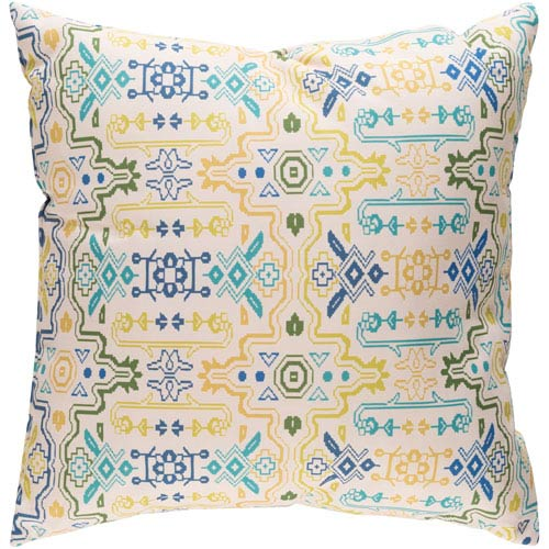 Surya Yindi Multicolor 18 x 18-Inch Pillow