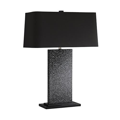 Raven Black One-Light Table Lamp