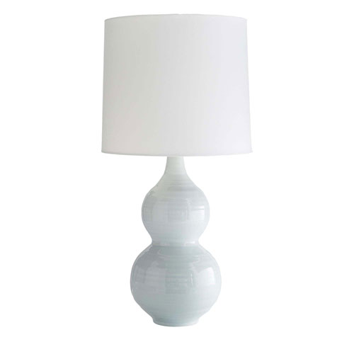 Arteriors Home Lacey Ice Blue 33-Inch Table Lamp