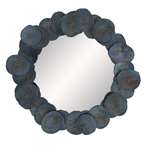 Kensey Burnt Iron Wall Mirror