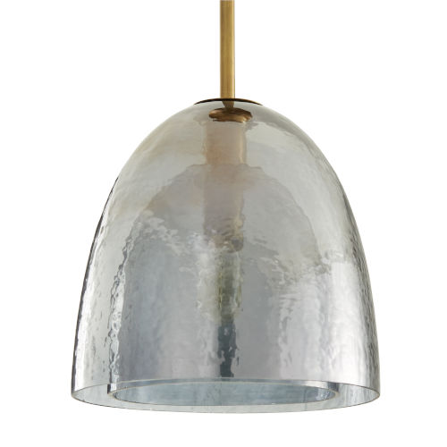 Jenna Smoke Luster One-Light Pendant