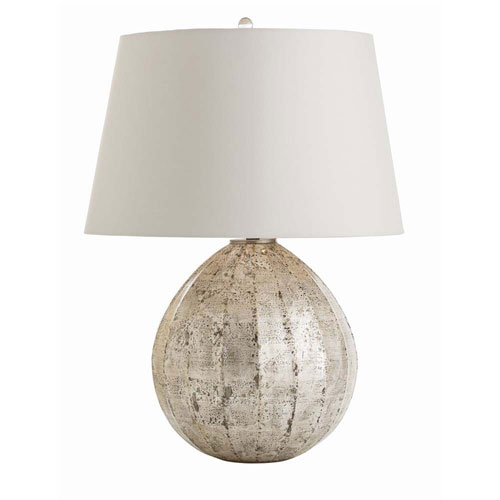 Arteriors Home Edaline Distressed Silver Leaf 26-Inch One-Light Table Lamp